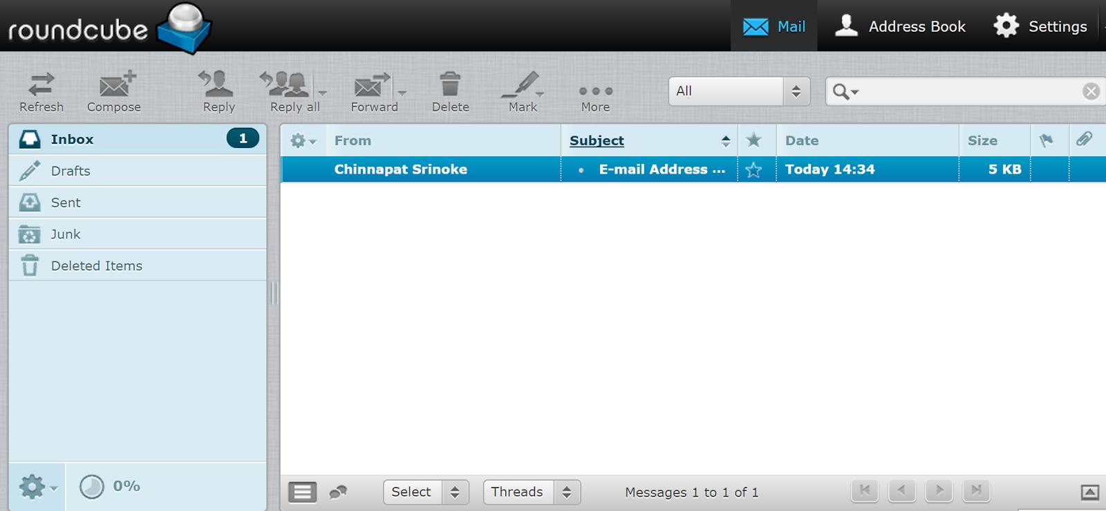 วิธีการใช้งาน Webmail